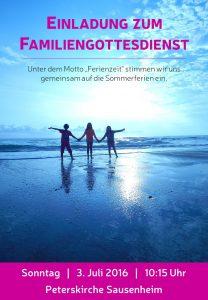 Poster Familiengottesdienst